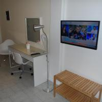 Double bed studio with garden view