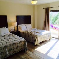 Double Room with two double beds Garden View