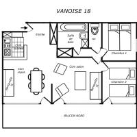 Two-Bedroom Superior Apartment (6 adults)