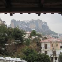 Double Room with Meteora View