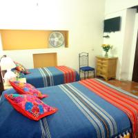 Double Room with Two Double Beds and Shared Bathroom