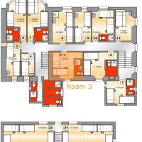 Dormitory Room (5 Adults)