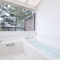 Twin Room with Ocean View and Semi Open-Air Bath