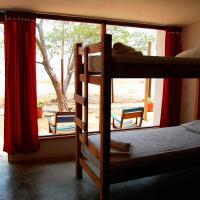 Bed in 4-Bed Dormitory Room with Air-conditioning