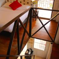 Wooden Duplex Double Room with Balcony