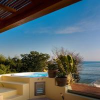 Royal King Suite, Living room, 2 Twin, Terrace, pool, and sea view