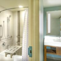 ADA King Bed with Accessible Shower