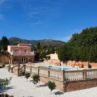 Villa private pool sea view
