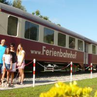 Hotelbilleder: Ferienbahnhof Reichenbach, Dahn