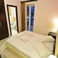 Double Room with Balcony and Side Sea View