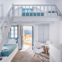 Two-Bedroom Suite with Loft  and Panoramic Caldera View