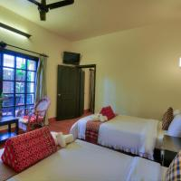 Deluxe Twin Room with Balcony Garden View