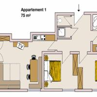 Apartment 1 (4-6 Adults)