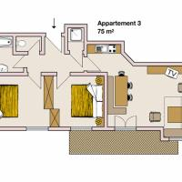 Apartment 3 (4-6 Adults)
