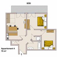Apartment 4 (4-6 Adults)