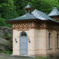 Hotelbilleder: Ferienwohnungen Jagdschloss Bielatal, Bielatal