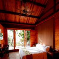 Wooden Cottage Room