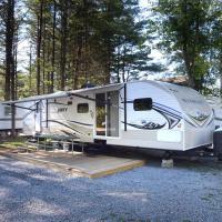Lake George Escape 40 ft. Premium Travel Trailer 36