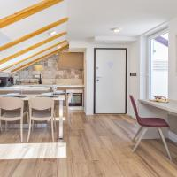 One-Bedroom Apartment with Balcony - Attic