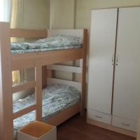 Bed in 6-Bed Mixed Dormitory Room with Bathroom