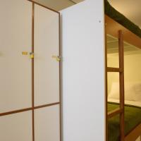 Single Bed in 8-Bed Male Dormitory Room Private Bathroom