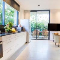 Three-Bedroom Apartment with Private Garden