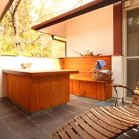 Twin Room with Open-Air Bath and Balcony