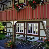 Hotelbilleder: Café im Hof, Streufdorf