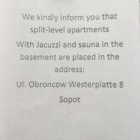 Superior Apartment with Sauna - Obrońców Westerplatte 8/1 Street