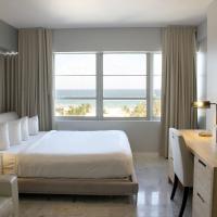 Deluxe King Room with Ocean Front