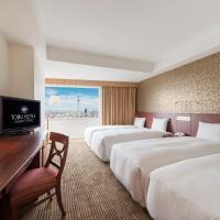 Quadruple Room with Tokyo Sky Tree View - Non-Smoking