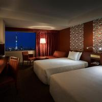 Standard Twin Room with Tokyo Sky Tree View - Non-Smoking