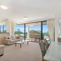 Three-Bedroom Apartment with Park View