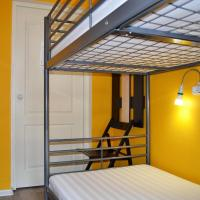 Double Room with Bunk Bed and Window