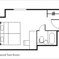 Hollywood Twin Room - Non-Smoking