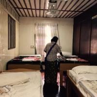 Single Bed in 4-Bed Mixed Dormitory Room with Shared Bathroom