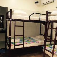 Bed in 4 bed mixed dormitory with attached bathroom and Air-con