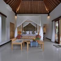 Luxury Two-Bedroom Villa with Private Pool and Rice Field Sunset