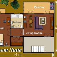 One-Bedroom Suite with Spa Bath