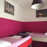 Bed in 4-Bed Mixed Dormitory Room with Shared Bathroom and Terrace