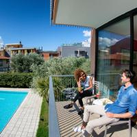 Double or Twin Room with Balcony and Pool View
