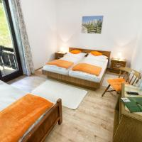 Double Room with Balcony and Garden View