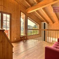 Four-Bedroom Chalet with Garden