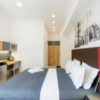 Designed Street View Studio Apartment with Shower on Khreschatyk 23