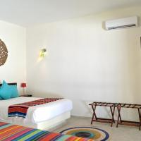 Deluxe Double Room with 2 Double Beds with Sea  View
