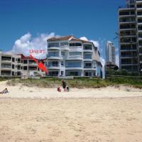 Four-Bedroom Beachfront Apartment