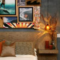 Surf Themed Queen Room