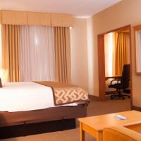 Honeymoon King Suite with Whirlpool and Kitchenette - Non-Smoking