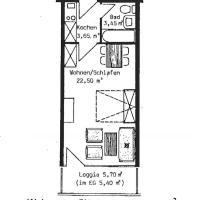 Studio with Balcony Top 123