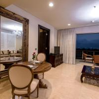 Luxury One-Bedroom Apartment with Sea View